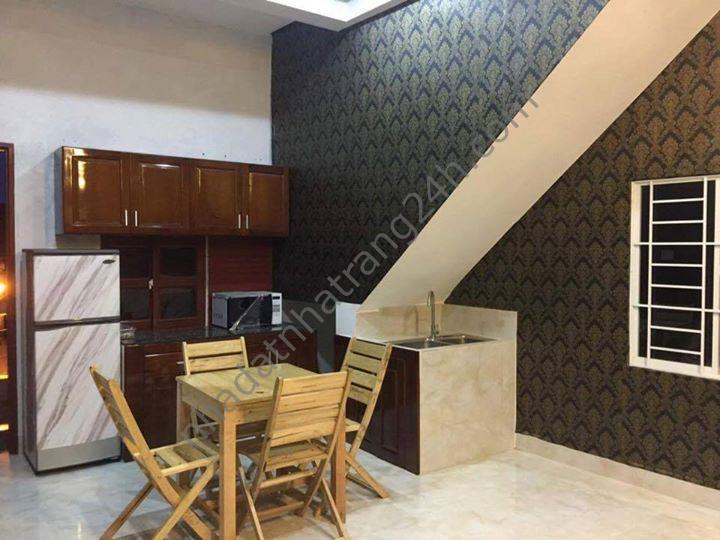 Cho thuê căn hộ đầy đủ tiện nghi tại hẻm Hoàng Diệu rất gần biển Nha Trang