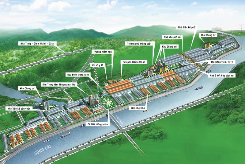 Khu đô thị Nha Trang Pearl( Nam Sông Cái) Nha Trang giá gốc CDT chỉ từ 600 triệu/ nền 0968 317 413