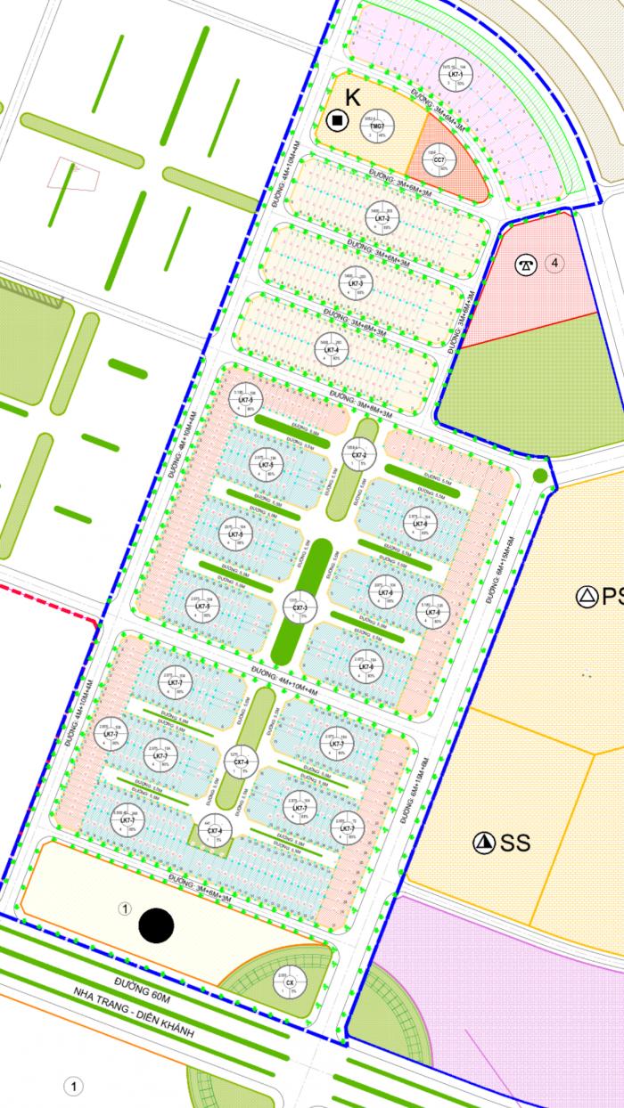 Khu đô thị Mỹ Gia Nha Trang – Gói số 7