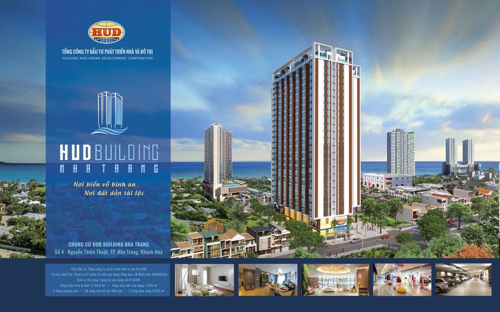 Chung cư Hud Building Nha Trang