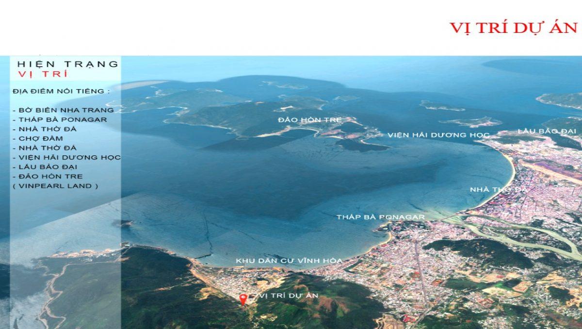 Vị trí Khu dân cư Hồ Vĩnh Hòa