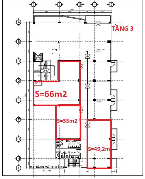 Cho thuê văn phòng – officetel tại Tòa nhà 59 Lê Thành Phương