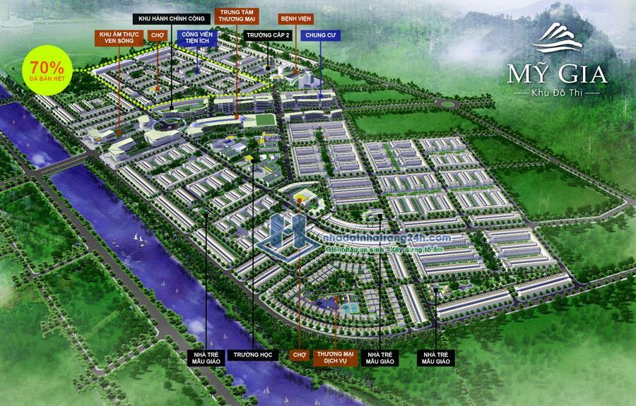 Bán đất nền Lk77 Khu đô thị Mỹ Gia Gói 7