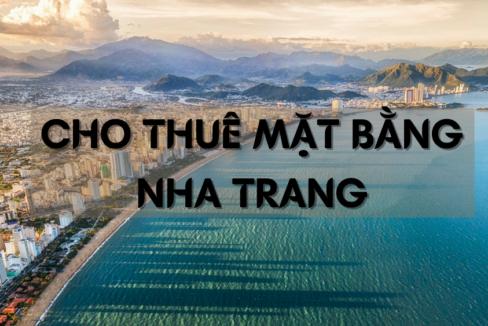 Cho thuê mặt bằng Nha Trang